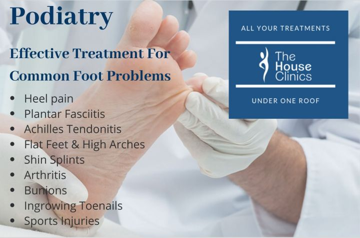 Podiatry Treatment For Common Foot Conditions image