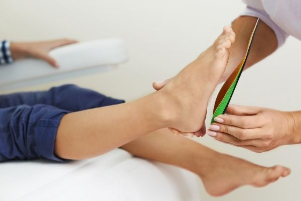 Semi-Bespoke & Custom Orthotics, The House Clinics, Podiatry Assessment, Bristol